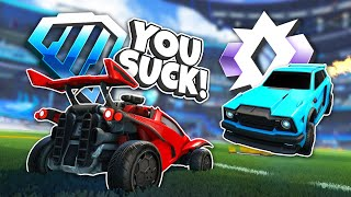 TOXIC Commenters vs The Player They Called Out in Rocket League