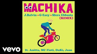 Machika (Remix) (Audio) - Duki feat. G-Eazy, Sfera Ebbasta , Anitta, MC Fioti, Duki y Jeon (Video)