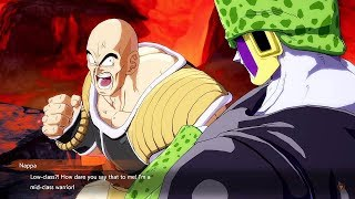 Dragon Ball FighterZ - Cell Roasts Nappa @ 1080p (60ᶠᵖˢ) HD ✔