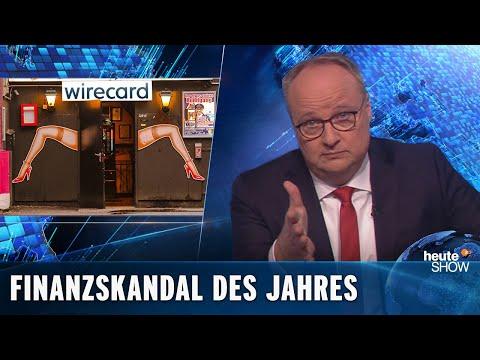 Finanční skandál Wirecard - heute show