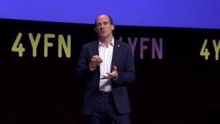 Conor Neill Keynote at Mobile World Congress #4YFN 2016 - 3 Keys to Entrepreneurial Success