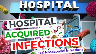 Hospital Acquired Infections (Nosocomial Infections) - UTI, CLABSI, HAP and SSI | Made Easy