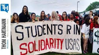 Student Organizers Harassed By Police To Stop The Fight For $15