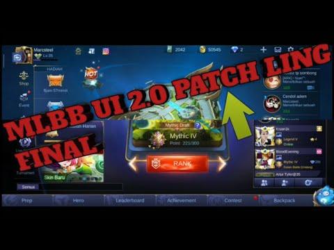 TUTORIAL MLBB UI 2.0 PATCH LING FINAL - TANPA UNINSTALL TANPA UPDATE ANTI LAG - MS GAMING