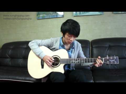"""""""I'm singing my BLUEs, blues"""" ... blue by sungha jung"""