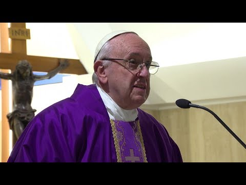 Pope in Santa Marta: Confession is not simply removing dirt at the dry cleaners