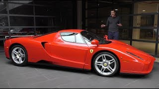 GO READ MY COLUMN! http://autotradr.co/Oversteer https://www.autotrader.com/research/article/car-video/275097/video-heres-a-tour-of-a-3-million-ferrari-enzo.jsp  CHECK OUT DUTTON GARAGE! http://duttongarage.com/  This is a Ferrari Enzo, and it's one of Ferrari's five modern supercars. Today, I'm giving you a tour of the Enzo and I'm going to show you all the little quirks, features, and details of the Ferrari Enzo.  FOLLOW ME! Facebook - http://www.facebook.com/ddemuro Twitter - http://www.twitter.com/dougdemuro Instagram - http://www.instagram.com/dougdemuro