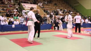 preview picture of video 'Ogólnopolski Turniej IKO Karate Kyokushin Dzieci i Młodzieży Włocławek 2013 - 30.11.2013'