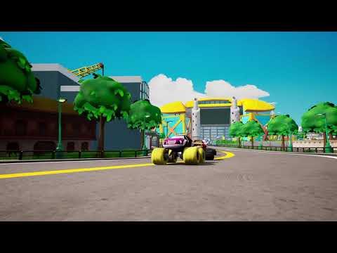Видео № 0 из игры Вспыш и чудо-машинки: Гонщики Эксл Сити [Xbox]