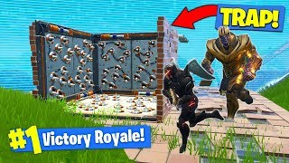 THANOS *TRAP* TROLLING In Fortnite Battle Royale! | Kholo.pk