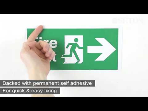 Self-Adhesive Vinyl Material | Safety Signs | Seton UK
