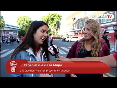 #HuracánTV: El Palacio Ducó celebró el #8M