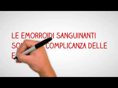 Eliminazione video di nodo di gemorroidalny