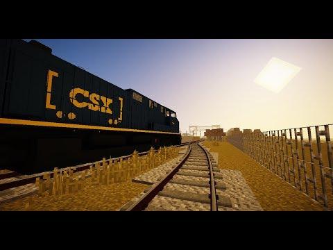 Immersive Railroading Tutorial - Part 1 - Tracks - смотреть