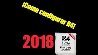 Como Configurar Una R4 DS/3DS Y Ponerle Juegos 2018