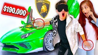 Buying EVERYTHING I Touch Blindfolded w/ Girlfriend's Credit Card!