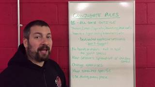 Part 6-The Rules of Conjugate Training.