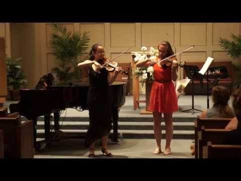 Ashokan Farewell arrangement with my friend Catie Ely at my high school Senior Recital