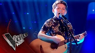 Jake performs 'Humble And Kind': Live Final | The Voice Kids UK 2017