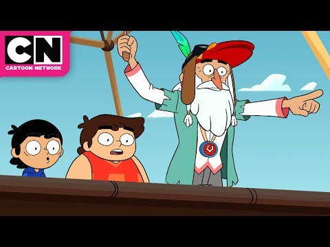 The Hot Air Balloon Ride | Victor and Valentino | Cartoon Network