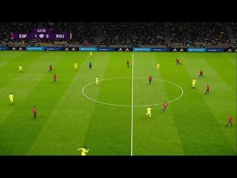 [HD] Spain vs Romania | Match Qualification EURO 2020 | 18 Novembre 2019 | PES 2020