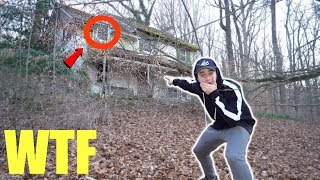 We found the Blair Witch house deep inside the haunted Blair witch Forest... (insane)