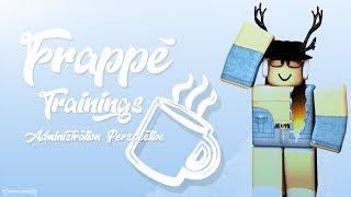 Frappé Trainings   Administration POV