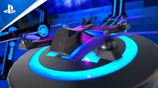PlayStation Drone Racing League Simulator - Official Trailer   PS4 anuncio
