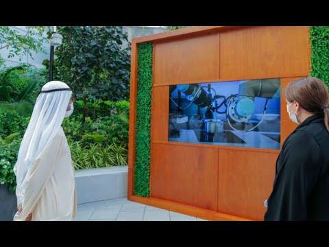 صاحب السمو الشيخ محمد بن راشد آل مكتوم - محمد بن راشد يطلق مشروع وادي تكنولوجيا الغذاء في مرحلته الأولى ويؤكد أن منظومة الأمن الغذائي الإماراتي تشهد تسارعاً كبيراً