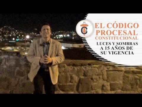 EL CÓDIGO PROCESAL CONSTITUCIONAL - Tribuna Constitucional 81 - Guido Aguila Grados