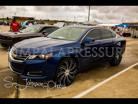 One smooth Chevy Impala on Massive Wheels in HD Street Whipz