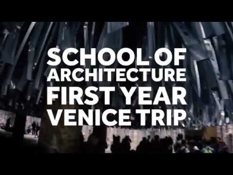 Architecture students on tour in Venice