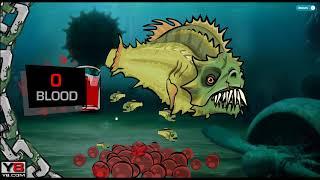 Злая рыбка Tasty Blue #2