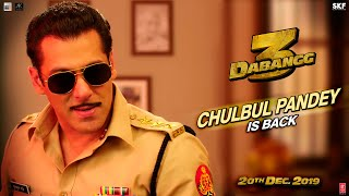 Dabangg 3 - Chulbul Pandey is Back - Promo