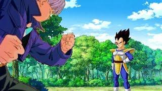 Dragon Ball Wrong Time (If Future Trunks Went To Saiyan Saga)