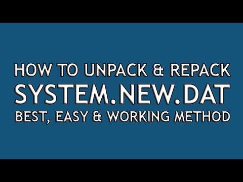 Auto Tool Unpack Repack  DAT &  IMG For Windows v2 0 - смотреть