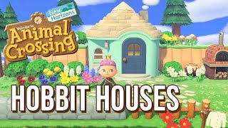 Designing HOBBIT HOUSES For My Villagers In Animal Crossing