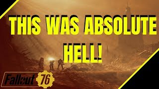 Fallout 76 - LEGENDARY HUNTS FOR ENCLAVE & ABSOLUTE HELL ON EARTH!