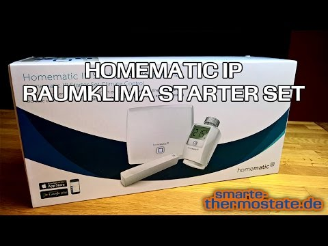 Smart Home Thermostat Homematic IP: Raumklima Starter Set im Test Heizungsthermostat