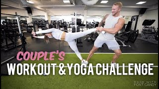 COUPLES WORKOUT & YOGA CHALLENGE (FITNESS COUPLE EDITION)