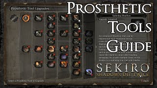 Sekiro: Shadows Die Twice - Prosthetic Tools Guide