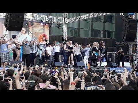 Orgullo Gay 2018 MADRID Pregón / Gay Pride Opening Speech