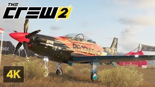 Aeroplane Racing The Crew 2 4K Gameplay [PC ULTRA] Welcome to FREESTYLE Family Walkthrough #5