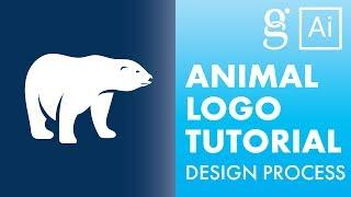 Illustrator Tutorial | Animal Logo Design