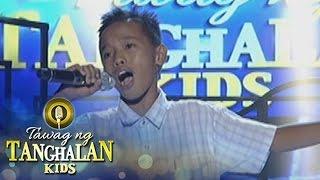 Tawag ng Tanghalan Kids: Jomarie Veralde | Ibong Ligaw