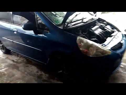 Honda Jazz (Fit) Cooling fan Switch Replacement DIY i-dsi 1 4 1 3