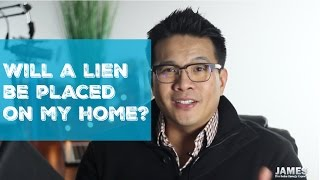 Will a lien be placed on my home if I install solar?