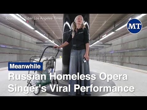 Russian Homeless Opera Singer's Viral Performance Inspires Outpouring of Support