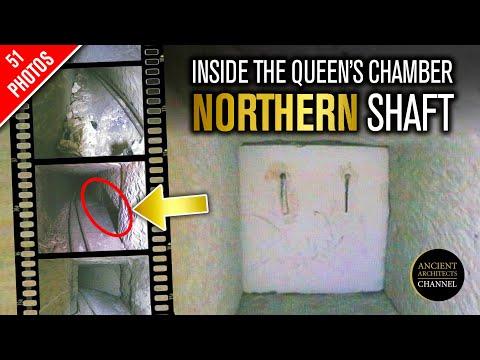 EXCLUSIEF: Eerste blik in de Grote Piramide Koninginnekamer Noordelijke schacht