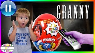 Trapped in Granny's House| Pause Challenge | Ryan's World Egg | Thumbs Up Family